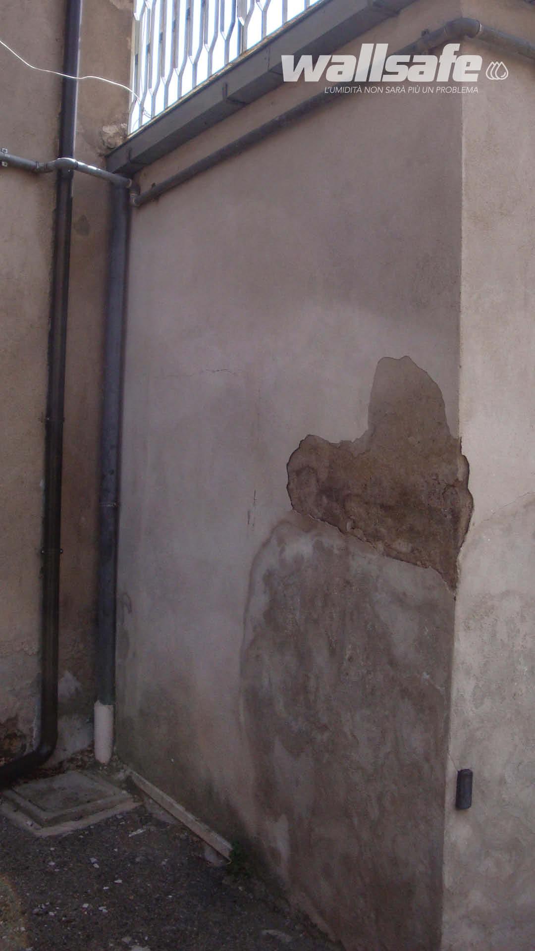 Muro Bagnato Cosa Fare umidità nei muri di un centro estetico? no grazie! - wall safe